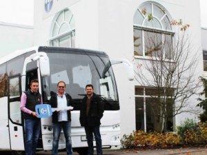 Alman otobüsçünün de tercihi TEMSA