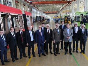 Bursa raylı üretimde Türkiye'nin gururu oldu