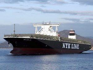 NYK Line, 14 bin TEU kapasiteli M/V NYK BLUE JAY isimli konteyner gemisini teslim aldı
