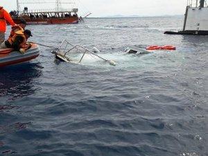 Didim açıklarında sığınmacıları taşıyan tekne battı: 25 ölü