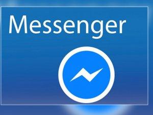 Facebook Messenger'a yeni tasarım