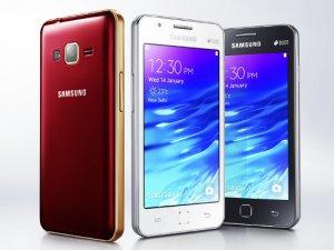 Samsung'dan Tizenli Z1 (2016) geliyor