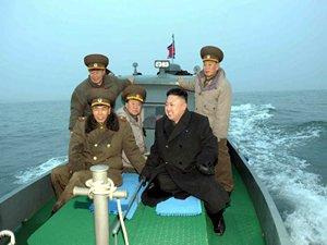 Kuzey Kore'ye ait denizaltı kayboldu