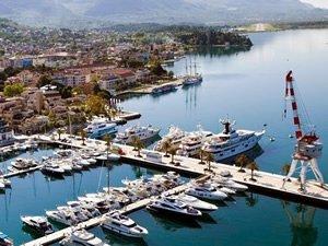Dünyanın en uzun rıhtımı Porto Montenegro'ya inşa edildi