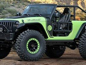 Jeep'ten 707 Beygirlik Arazi Canavarı