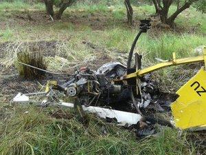 Güney Afrika'da helikopter kazası