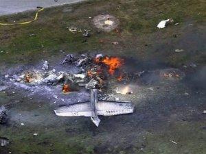 ABD'de Cessna düştü