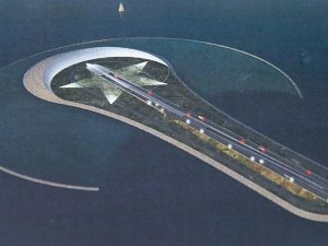 İzmir trafiğine 'ay yıldız' adasıyla çözüm