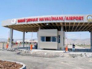 Şırnak'ta uçuşlar başlıyor