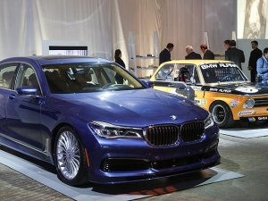 New York'ta BMW'nin 100. yılına kutlama