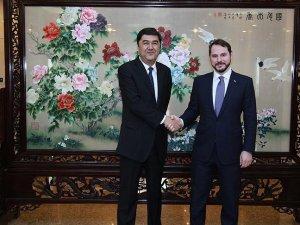 Enerji ve Tabii Kaynaklar Bakanı Albayrak Çin'de