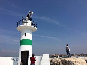 Burhaniye'de yat limanında kameralı takip sistemi