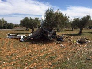 İspanya'da küçük uçak düştü