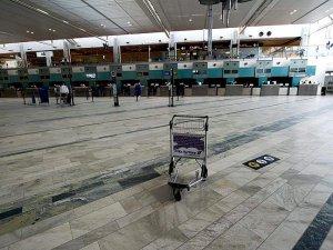 İsveç'te havalimanı boşaltıldı