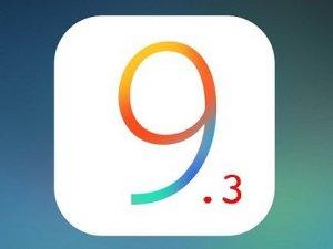 iOS 9.3.1 güncellemesi yayınlandı