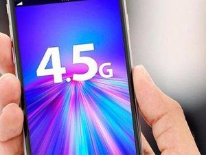 Türkiye'de 4,5G ile hızlı internet dönemi başladı