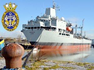 Kraliyet Donanması'na ait RFA ORANGELEAF isimli yakıt destek gemisi Aliağa'ya satıldı