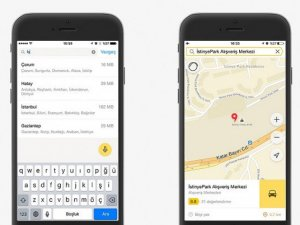 Yandex haritalar'a büyük güncelleme geldi