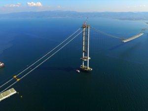 Körfez Geçiş Köprüsü'nde çalışmalar hızlandı! Mayıs'ta açılıyor