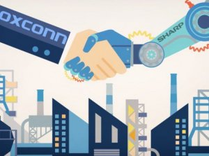 Foxconn, 3.5 Milyar Dolara Sharp'ı Satın Aldı