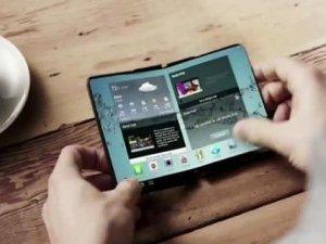 Samsung katlanabilir telefon hazırlığında