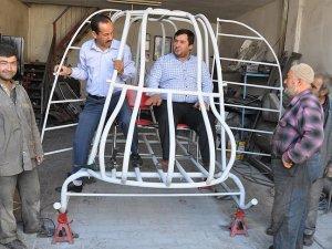 Hatay'da helikopter üretimi