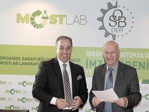 Organize Sanayi Bölgeleri Derneği ve MOSTLAB, işbirliği protokolü imzaladı