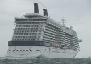 Dünyanın en lüks gemisi İstanbul'da