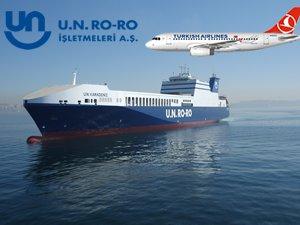 UN RO-RO ve Türk Hava Yolları'ndan dev işbirliği