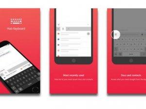 Microsoft Hub Keyboard iOS için yayınlandı