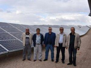 Hasan Dağ'ı eteklerinde yenilenebilir enerji üretiliyor!