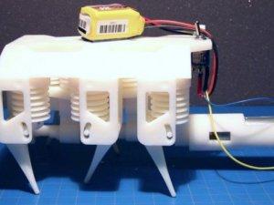 3D yazıcıyla robot üretildi