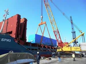 HOPAPORT Proje Kargo gemilerinin uğrak merkezi oldu