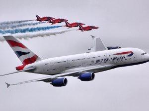 British uçağı facianın eşiğinden döndü