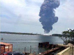 Meksika'da petrol tesislerinde patlama: 3 ölü 136 yaralı