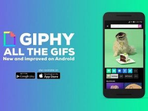 Giphy uygulaması Google Play'de