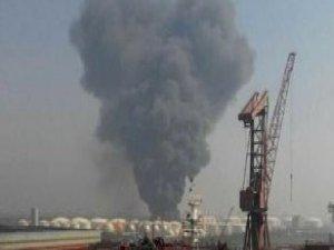 Çin'de kimyasal tesiste büyük patlama