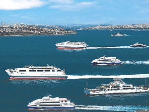 Maraton deniz ulaşımını da etkiledi, İDO'da bazı seferler iptal