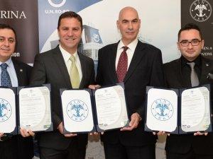 Pendik Limanı'na, ISO ve OHSAS sertifikaları