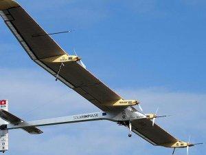 'Solar Impulse 2' dünya turunun 9. etabını tamamladı