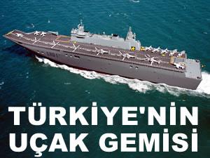 Türkiye'nin ilk uçak gemisi TCG ANADOLU'nun ilk kaynağını Cumhurbaşkanı Erdoğan yapacak