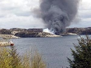Norveç'te petrol platformuna işçi taşıyan helikopter düştü