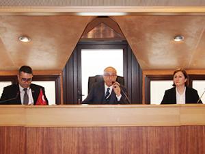 İMEAK Deniz Ticaret Odası Mayıs Ayı Olağan Meclis Toplantısı yapıldı