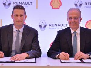 Renault araçların ilk yakıtlarını Shell dolduracak