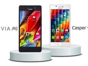 Casper'dan iki yeni akıllı telefon