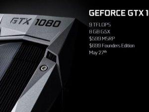 NVIDIA, GTX 1080 ve 1070 ekran kartlarını tanıttı
