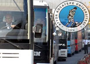 AKÜ'de otobüs kaptanlığı bölümü açıldı