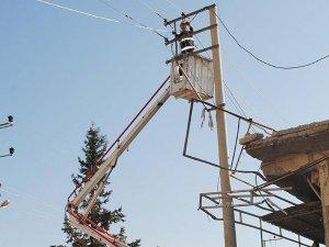 Bölücü terör elektrik dağıtım şirketini de vurdu
