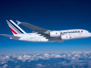 Air France uçağı Trabzon'a acil iniş yaptı