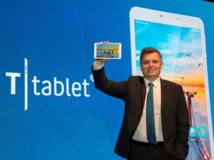 Turkcell'in yeni tablet bilgisayarı T Tablet